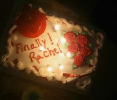 Finally! Rachel