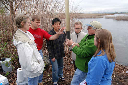 College graduates, such as these Rutgers University soil science students, can expect to see an increase in the number of job opportunities available in the next five years.