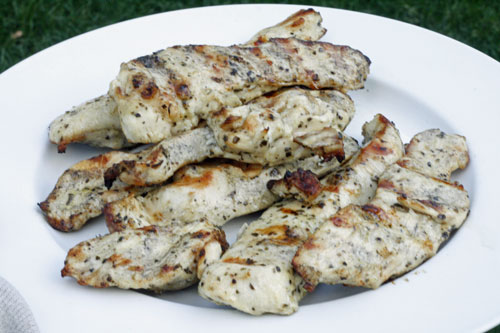Marinated Grilled Chicken (and Will's Big Day)