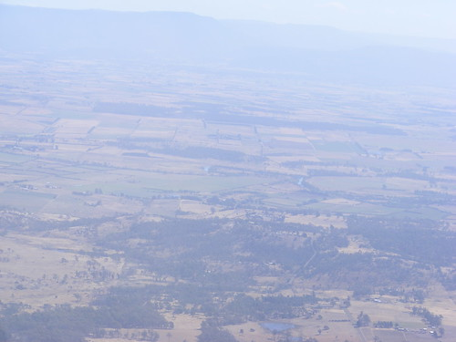 Tasmanian Farm Land from the Air