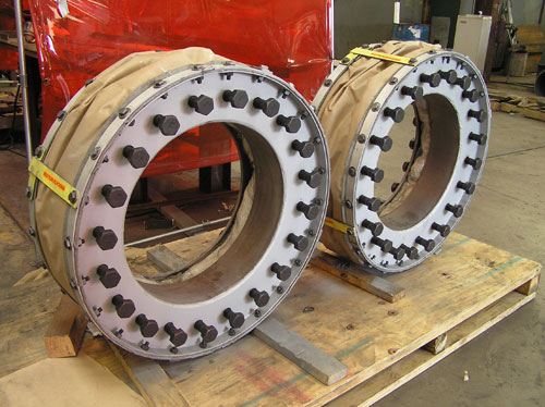 Two Fabric Expansion Joints for an Oil Refinery in Saudi Arabia