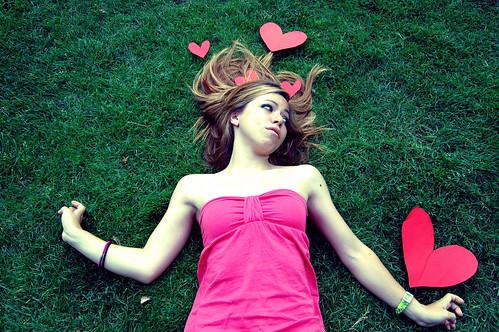 Dama de los corazones