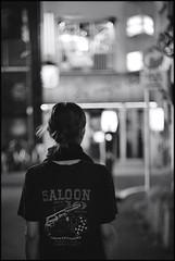 No.10 (Noisy Paradise) Tags: street leica city longexposure light bw monochrome japan night tokyo shinjuku bokeh xp2 epson  ttl summilux ilford m6  50mmf14   japanatnight  lhsa v750m  gtx970 leicasummilux50mm leicam6ttllhsa noisyparadise 201068