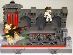 Who You Gonna Call? (Bart De Dobbelaer) Tags: lego atlantis vignette ghostbusters clumsypete