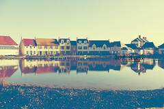 Reflection.. (- M7D . S h R a T y) Tags: houses sky lake paris france reflection water weather marriotts wordsbyme ®allrightsreserved™