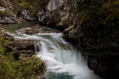 Johnson Canyon (Ronia Nash) Tags: snow mountains nature water waterfalls views banff gondola gmt banffnationalpark canadianrockies potofgold