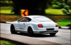Bentley SuperSports. (Illest_Chris) Tags: white bentley supersports