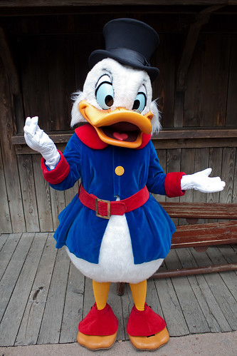Scrooge Mcduck At Disney Character Central