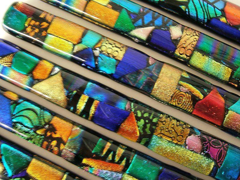 Mosaic Glass Border Liner Bar Tiles or Handles