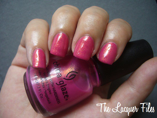 China Glaze Strawberry Fields Summer Days 2009 Collection