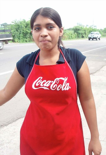 Young woman - Mujer joven; Aguilares, San Salvador, El Salvador