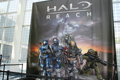 E3 2010 Halo Reach display