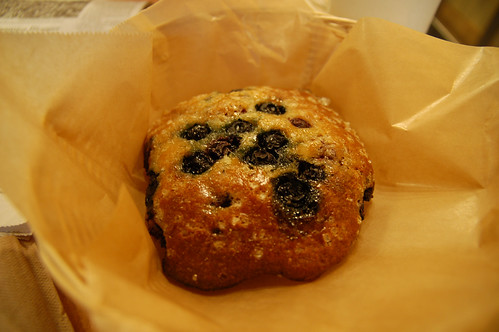 Vanilla Berry Muffin Top