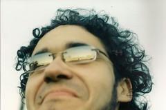 with diamonds (barbara carneiro) Tags: sunset film boyfriend glass analog 35mm analgica sopaulo prdosol filme caio reflexo usp f culos namorado canonat1 babileta mormeu