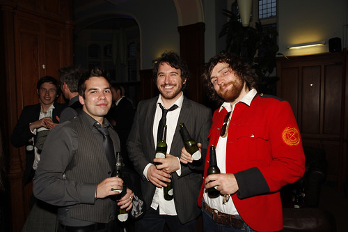Guests at the opening night party for the Edinburgh International Film Festival