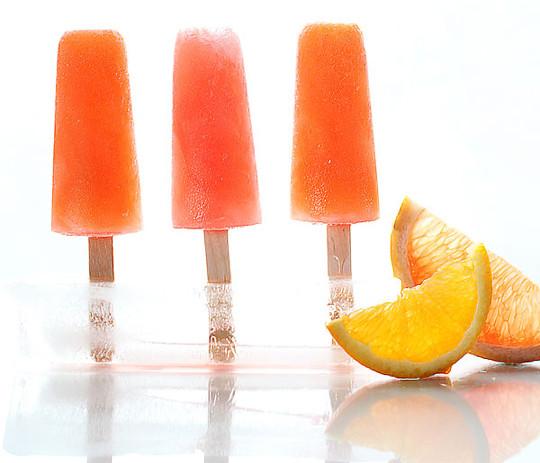 Campari Citrus Popsicles