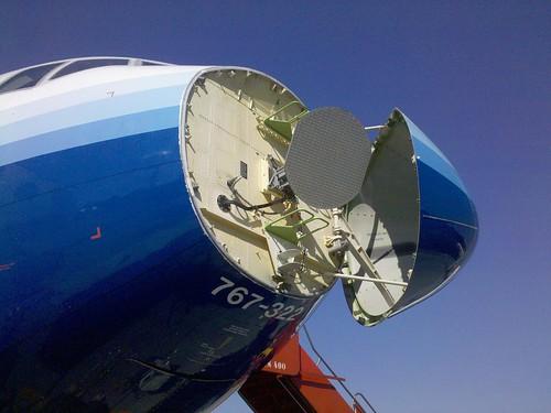 Você já viu um Boeing 767 de boca aberta?