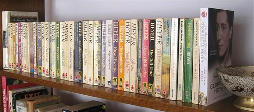 My Georgette Heyer book collection