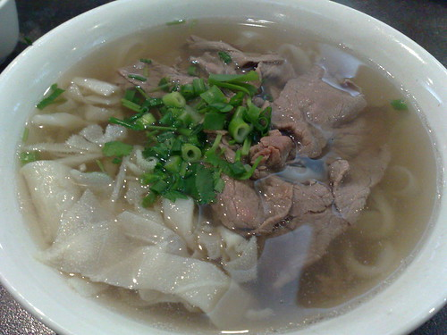 beef with tripe pho