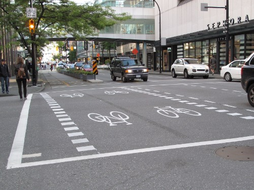dunsmuir bike lane