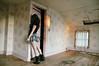 decorationday (yyellowbird) Tags: ohio house abandoned girl wall hearts cari tyjh