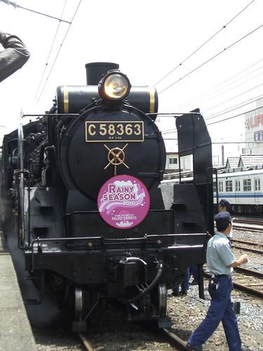 """秩父鉄道C58形蒸気機関車パレオエクスプレス/Chichibu Railway Class C58 Steam Locomotive """"Paleo Express"""""""