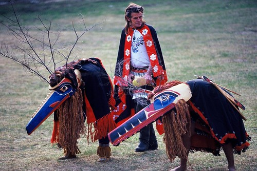 Nuxalk Dancers / Photo by Eric Berger