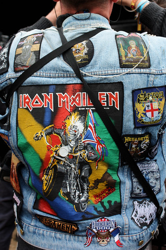 jean jacket denim ironmaiden saxon 2010 megadeth hellfest lastfm:event=1116339