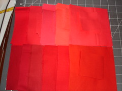 My reds... (63 sets for a 9x7 layout = perfect!)