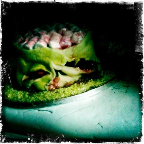 Kim's astounding Zombie cake