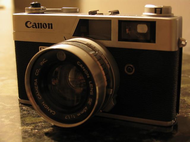 Canon Canonet QL17 Rangefinder