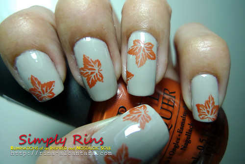 Nail Art Autumn 02