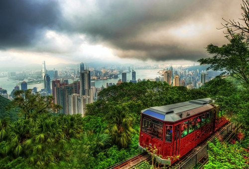Hong Kong Peak Tram by MikeBehnken, on Flickr
