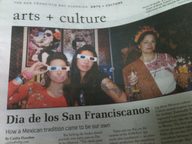 Meli and Mayra Represent in the Guardian