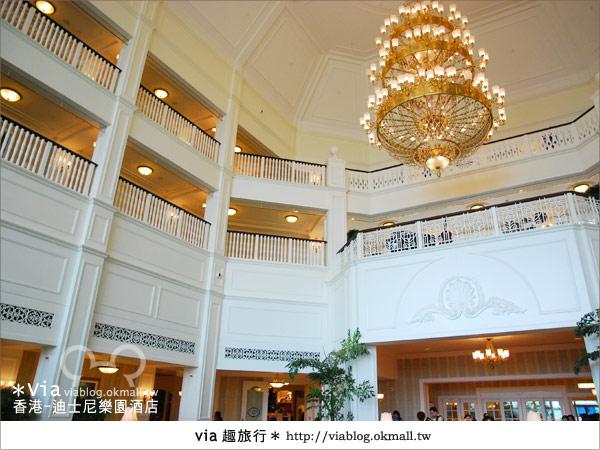 【香港住宿】跟著via玩香港(4)~迪士尼樂園酒店(外觀、房間篇)21