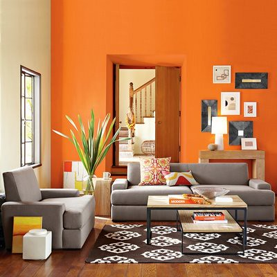 Orange+living+Room+Decor2