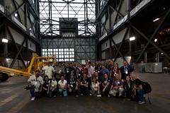 NASATWeetup Team in NASA VAB