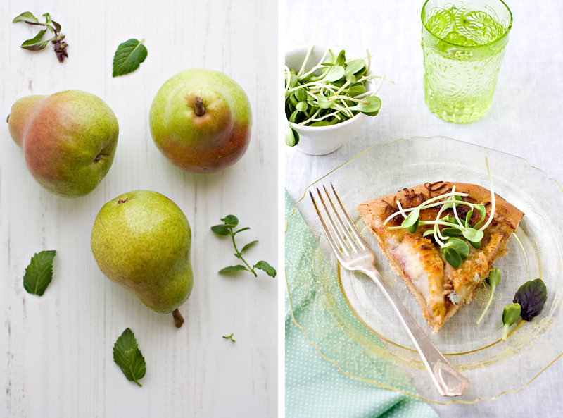 Pears-with-slice-of-pizza