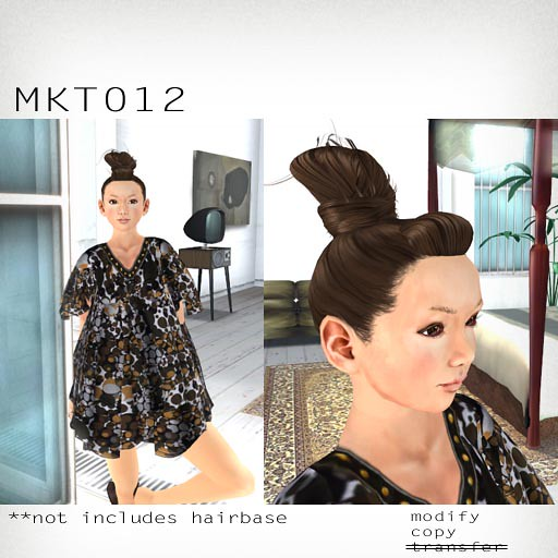 booN MKT012 hair