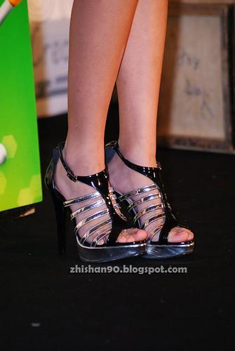 Chee Li Kee's high heels
