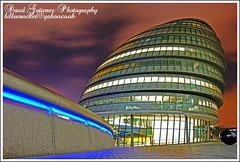 Night City (davidgutierrez.co.uk) Tags: city urban sculpture london art architecture night spectacular geotagged design hall photo cityscape image cityhall sony perspective cities cityscapes 350 londres sensational alpha londra impressive cites platinumphoto sonyalphadt1118mmf4556 sonyα350dslra350