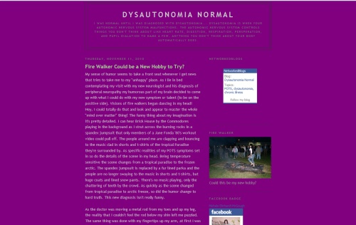 Dysautonomia Normal