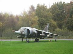 Yorkshir Air Museum, England (rylojr1977) Tags: museum war aircraft weapons history york england unitedkingdom yorshire harrier vtol jet