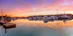 A Harbour View - Explored 04/07/2107 (Beth Wode Photography) Tags: sunrise dawn morning rabybay harbour rabybayharbour marina reflections boats pontoon yachts cleveland redlands beth wode bethwode