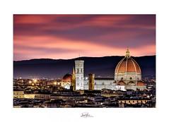 Florence, Italie (David MONSU Photography) Tags: florence firenze italie italy italia toscane sunset sunsetitaly sunsetflorence duomo cathédrale