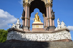 DSC_5164 (photographer695) Tags: hyde park london the albert memorial is situated kensington gardens commissioned by queen victoria memory her beloved husband prince who died typhoid 1861