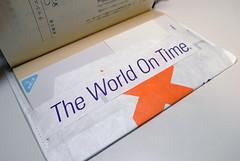 fedexの封筒をリメイクしたブックカバー