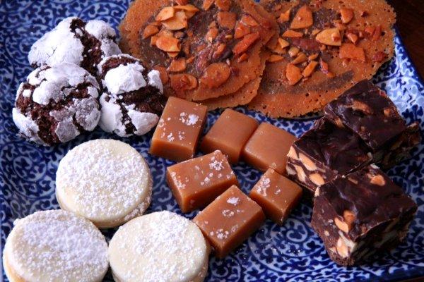 Santa's Cookie Plate