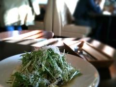 091225 A971で野菜のパスタ