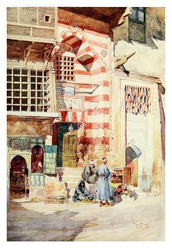 003-Una calle en el Cairo-Cairo, Jerusalem, and Damascus..1907- Margoliouth D. S.